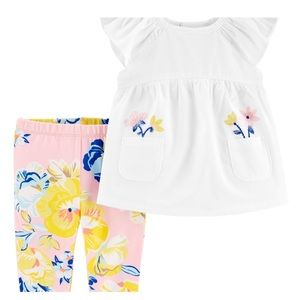 6M- NWT  Super cute fresh 2 pieces set
